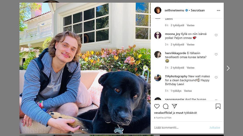 Eemil Selänne Instagram